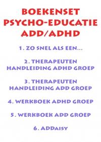 Set psycho-educatie ADD/ADHD incl. ADDaisy