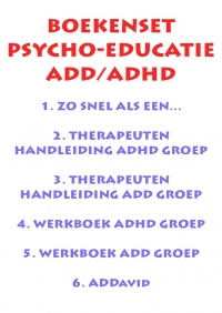 Set psycho-educatie ADD/ADHD incl. ADDavid